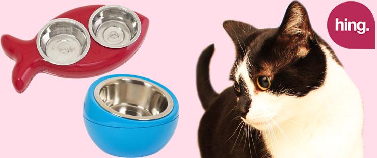 Katzennapf von Hing im Fish-Design für Katzen bei Futterfreund kaufen