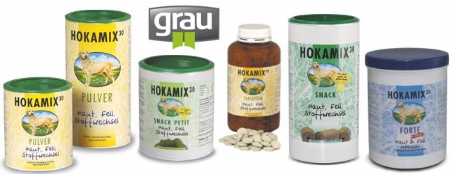 Grau Hokamix Ergänzungsfutter, Futterergänzung für Hunde bei Futterfreund kaufen