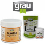 Grau Sanofor und Intestinal für Magen/Darm